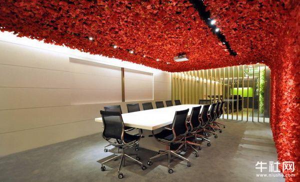 温馨的吉隆坡的办公室装修设计