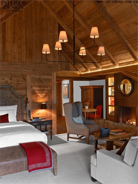室内木质屋檐设计图