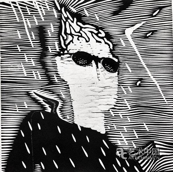 黑白木刻版画至此成为了一种日记,一种碎片化的观察,叙事独白.