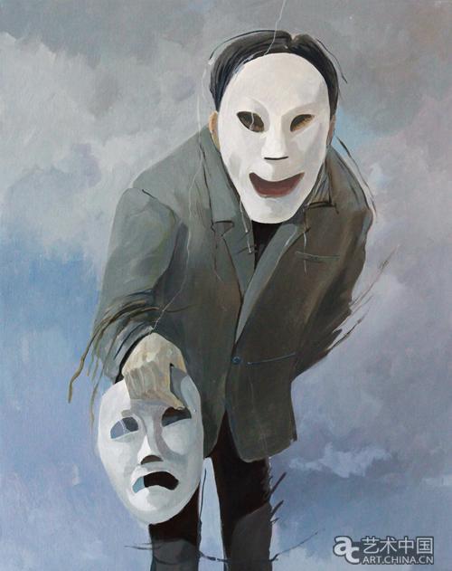 面具——安建军绘画作品展