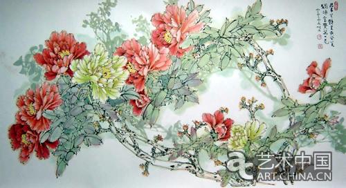 「中国当代杰出花鸟画大展」将于11月28日举行,展出来自中...