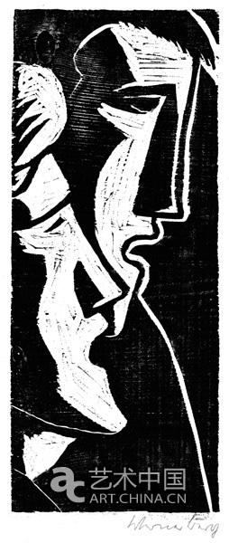 木刻版画也是维尔纳的一类重要艺术形式.