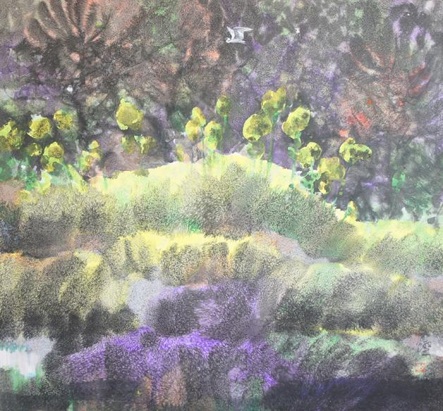 寿山石雕嵌镶壁画《八闽风光》陈列于北京人民大会堂福建厅和台湾厅