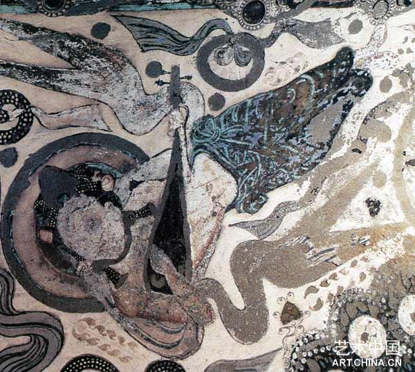 龟兹石窟壁画的表现技法