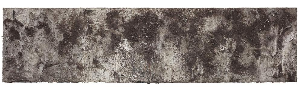 胡伟《书卷》一--90x360cm--木质构造、麻纸、矿物·植物·土质颜料-、金银粉、金属渣、箔--2018年.jpg