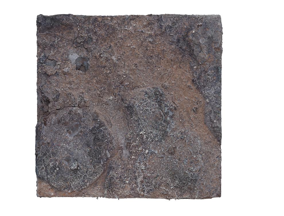 《金银蚀》四--40x40cm--木质构造、麻纸、矿物·植物·土质颜料、箔--2017年.jpg