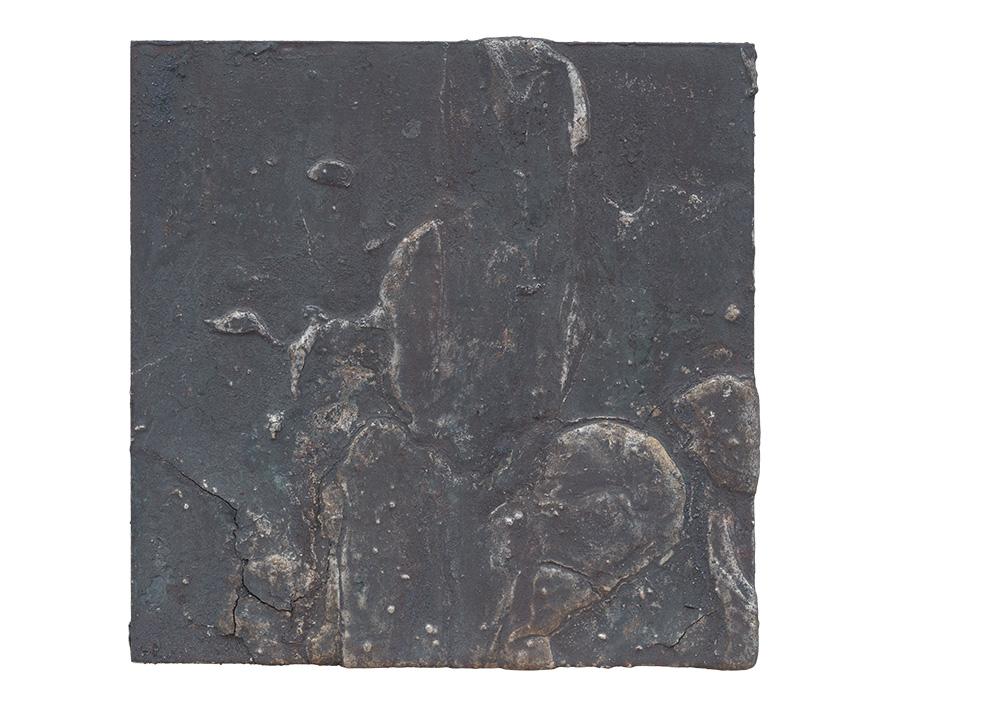 《水银沁》三--50x50cm--木质构造、麻纸、矿物·植物·土质颜料、箔--2016年-.jpg