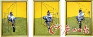 弗兰西斯·培根的三联作——《弗洛伊德肖像画习作》