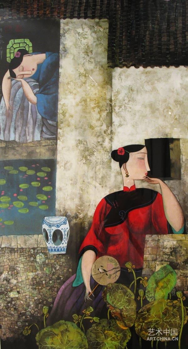 【精品绘画】中国抽象艺术家解读 胡永凯对女人的诠释 - 石墨阁艺术论坛 - 石墨阁艺术论坛--雨濃的博客