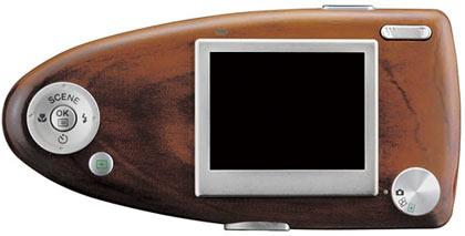 奥林巴斯开发木制相机