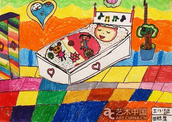 田雅琪同学的作品_孩子们的画