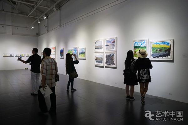 """白晓刚十年艺术生活日记 """"零拾""""个展桥艺术空间开幕"""