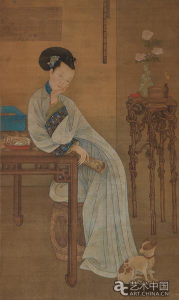 中国画写意人物_到北京画院看古画:明清人物画的情与境_ 艺术中国
