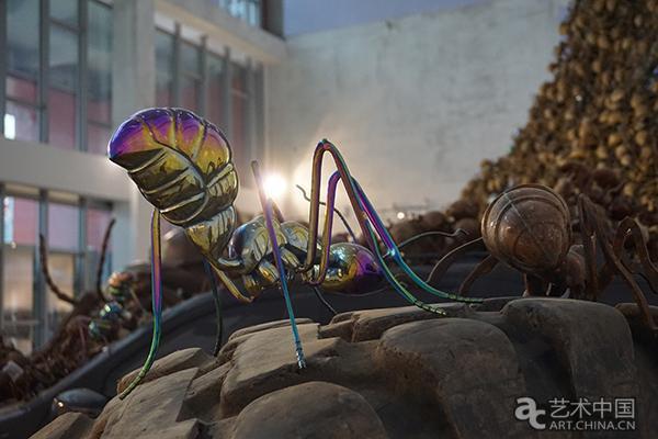 蚂蚁力士弯箍机内部结构图
