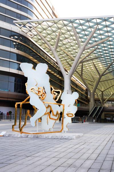 """""""镜像:上海爱琴海公共艺术项目""""致力于当代艺术的公众化"""