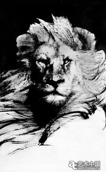 张肇达东方醒狮绘韭和平图腾,系列海内外巡展