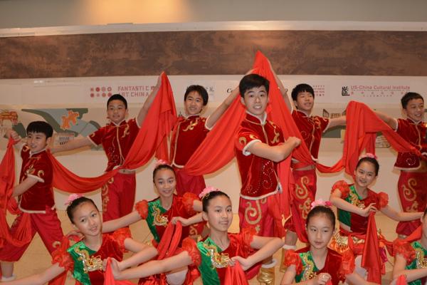中美活动从心得备课孩子中国汇系列领衔交流eepo抓起艺术图片