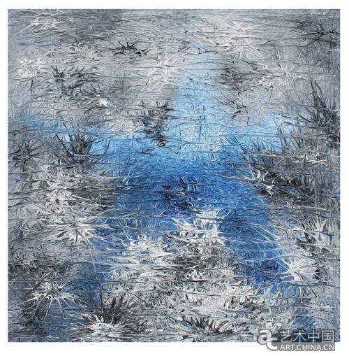 李松林,《海洋之星》,布面油彩,100cmx100cm,2010