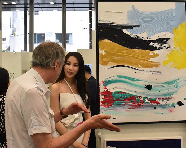欧美人体艺术xia_2018年第四届日本东京国际艺术博览会于5月25日起在东京六本木区向