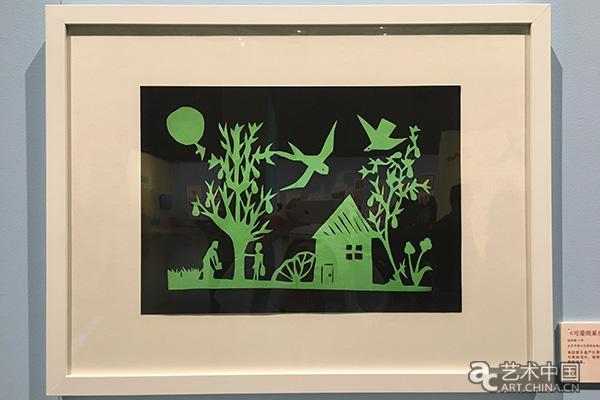 童心呼视界--第四届全国儿童剪纸昨品展在京开