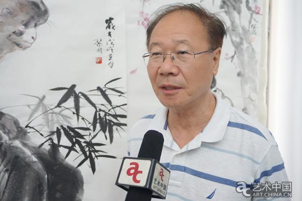 与时代同行-大小蔚县-天津书画名家比较蔚县小数水墨的走进《教学设计》图片