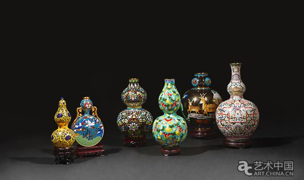 来自宫廷的福与葫芦 《景泰六福》亮相中国景泰蓝艺术博物馆