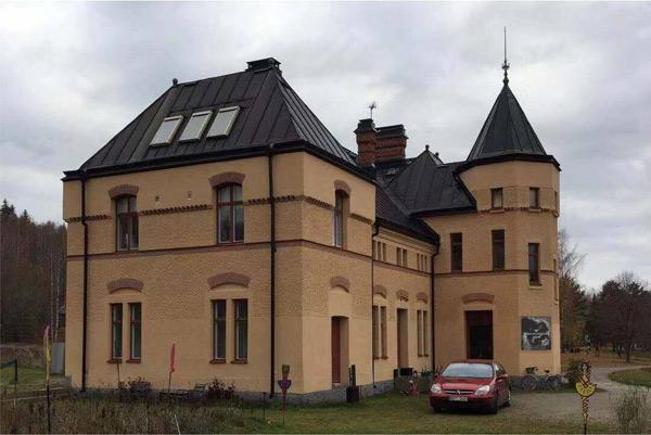 """唐焕明当代水墨作品展在瑞典开幕,呈现""""似与不似""""的艺术境界"""