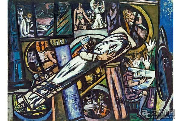 提森-博内米萨博物馆20年来首次展出马克斯·贝克曼作品