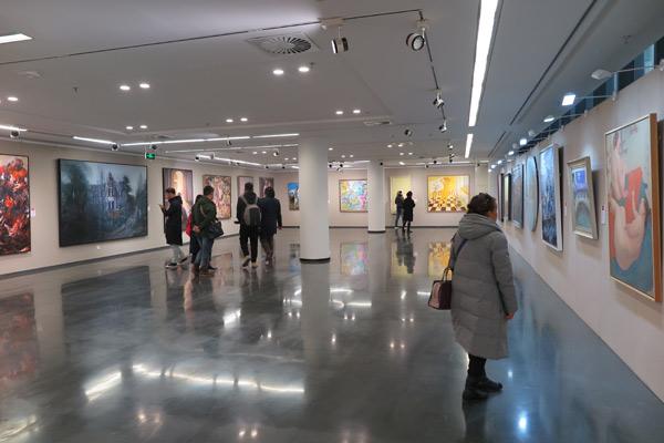 """""""意象的魅力——北方写意油画作品展""""在京开幕"""