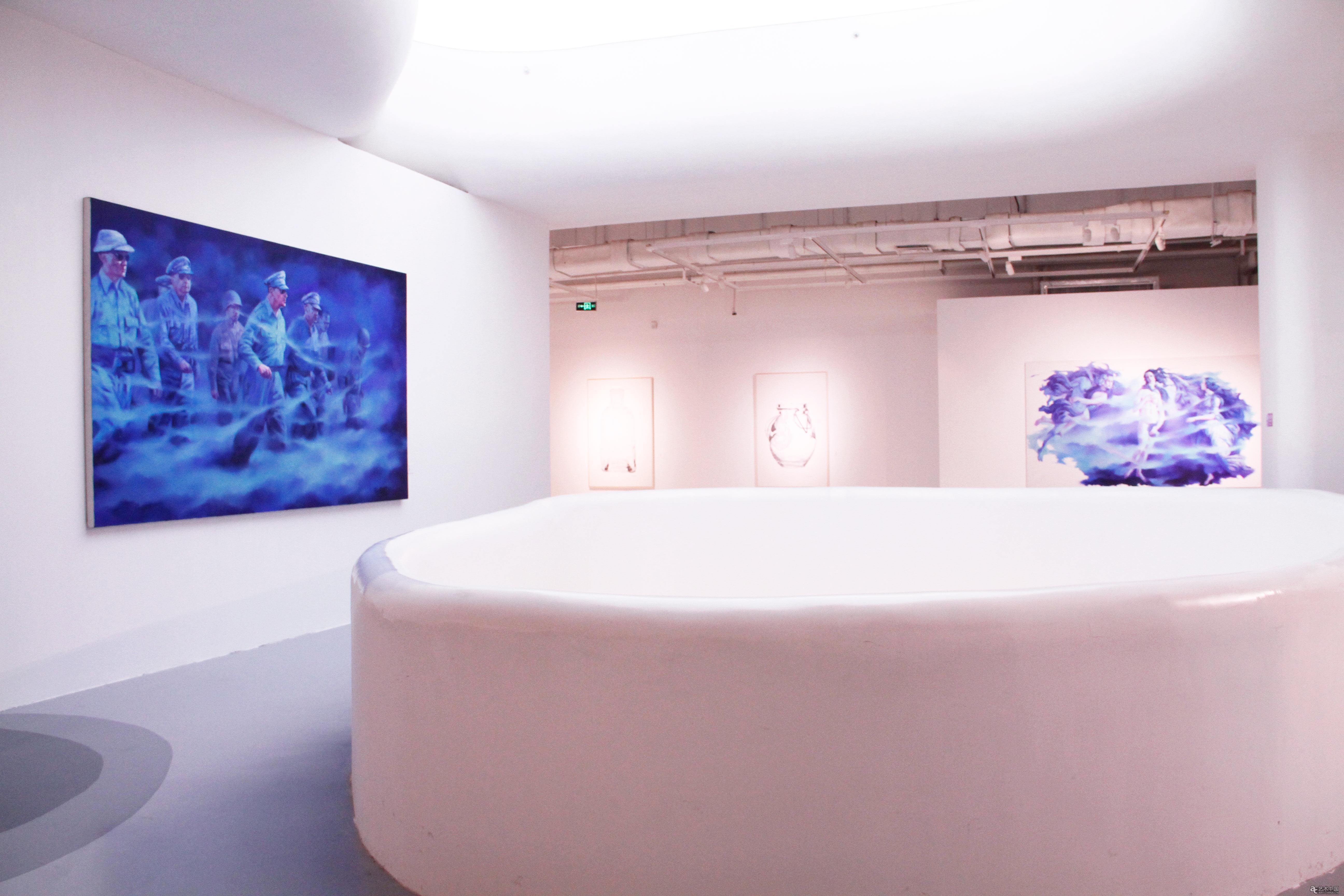 前行——当代艺术九人展在山水美术馆开幕