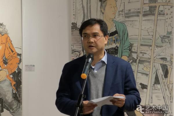 """""""丹青澄怀""""吴宇华绘画作品展北航艺术馆开展"""