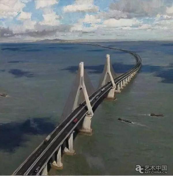 何红舟《东海大桥》