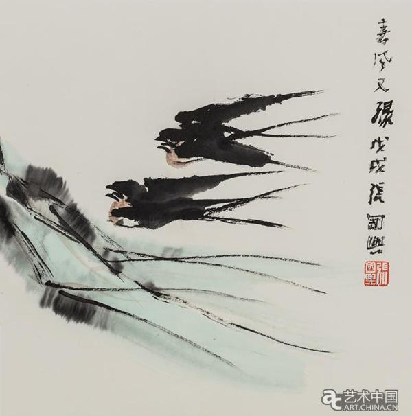 """一颗""""童心""""看世界:张国兴艺术展走进北京贝家国际幼"""