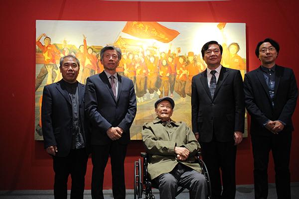 """""""青春•足迹""""全国艺术院校学生主题创作展启动_ 艺术中国"""