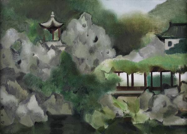 刘巨德、钟蜀珩艺术展常熟美术馆展出