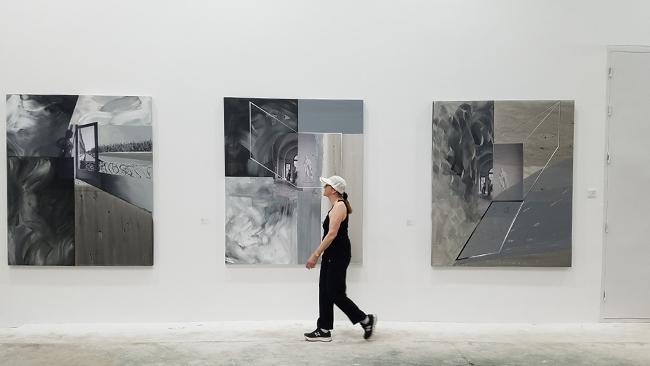 """LAB国际艺术家交流驻访项目""""STEP登录""""九美术馆"""