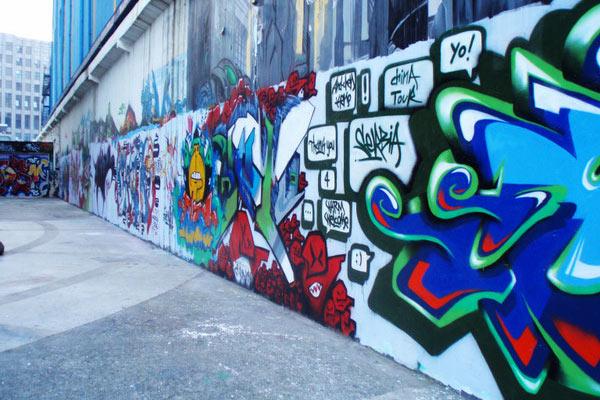 上海最惊艳 涂鸦墙 或将拆除 网友网上惋惜图片