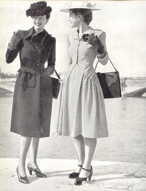 VINTAGE\/ 时装精神浴火重生--40年代