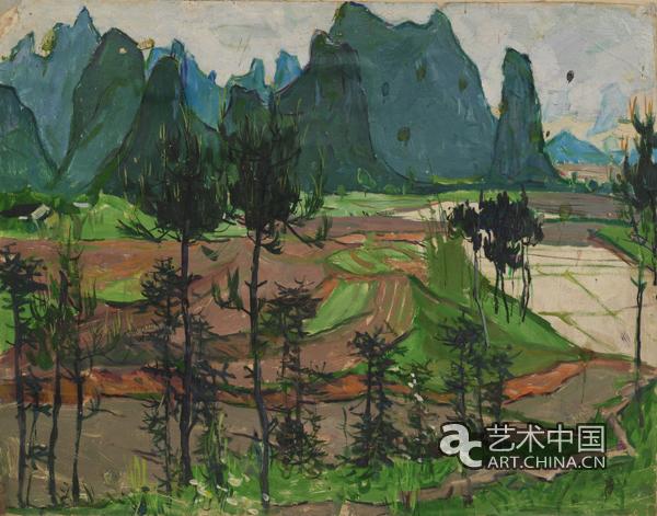 云南风景画创作素材