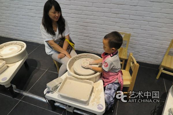 陶瓷手工工坊体验图片