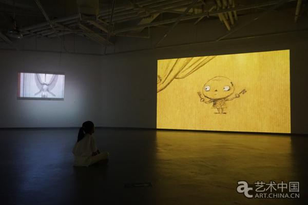 观看日本艺术家山村浩二的作品-从绘画到动画 展览探索独立动画的
