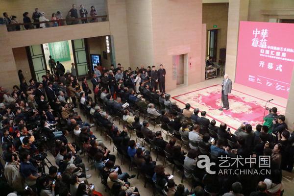"""""""中华意蕴——中国油画艺术国际巡展""""在中国美术馆汇报展出"""
