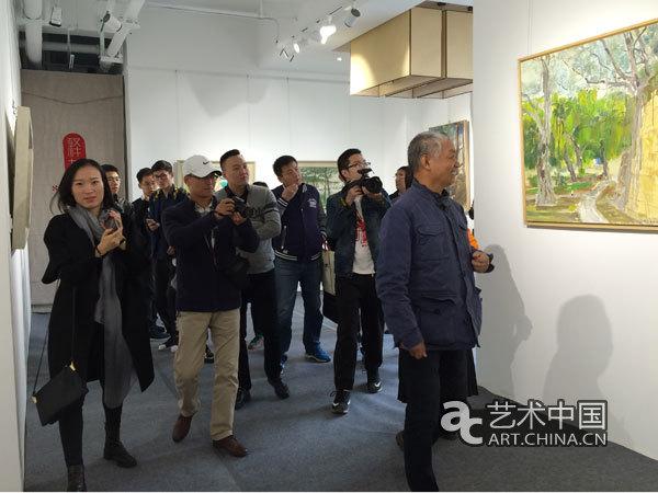 """""""大奇若平""""油画作品展山西太原展出"""