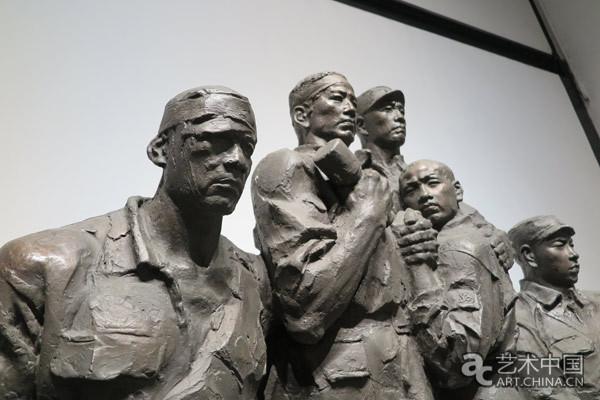 王洪亮历史题材雕塑作品展 谱写辉煌历程纪念红军长征